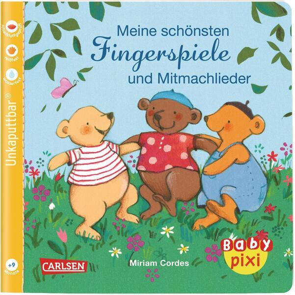 Baby Pixi 72: VE 5 Meine schönsten Fingerspiele und Mitmachlieder (5 Exemplare) als Buch