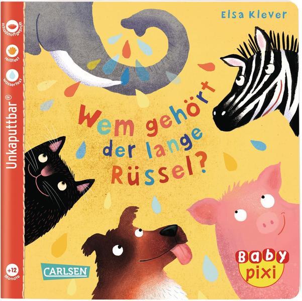 Baby Pixi 78: VE 5 Wem gehört der lange Rüssel (5 Exemplare) als Buch