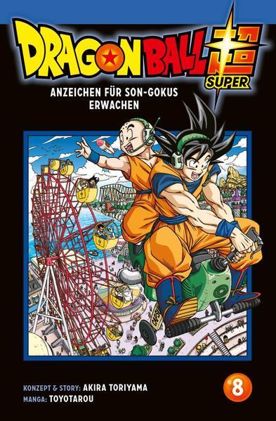 Dragon Ball Super 8 als Taschenbuch