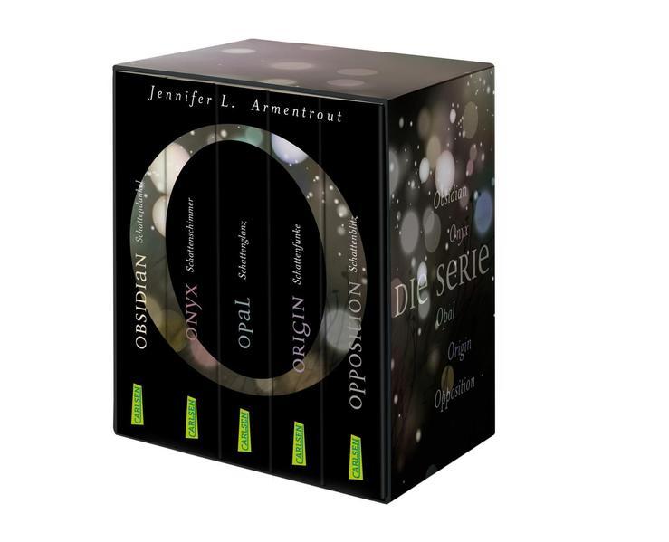 Obsidian: Alle fünf Bände im Schuber als Taschenbuch