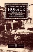 A Commentary on Horace: Odes, Book II