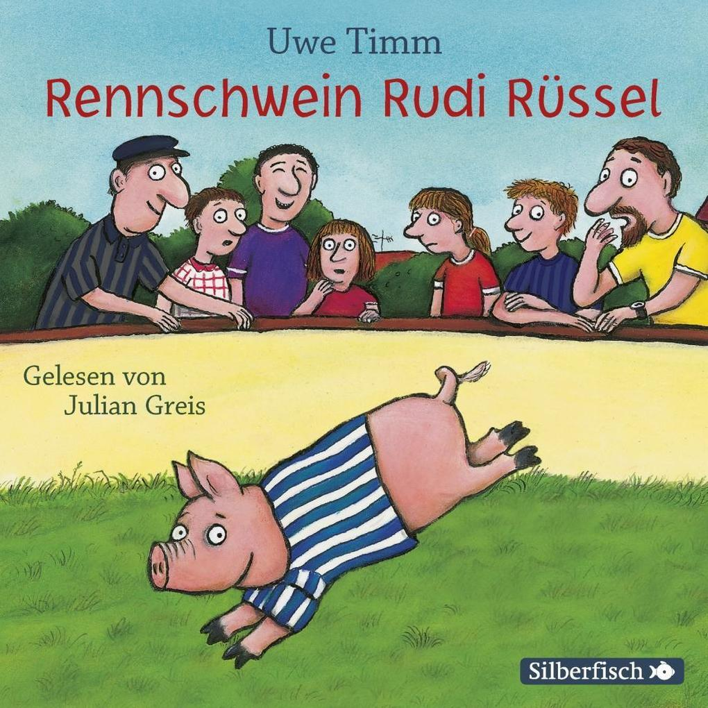 Rennschwein Rudi Rüssel als Hörbuch