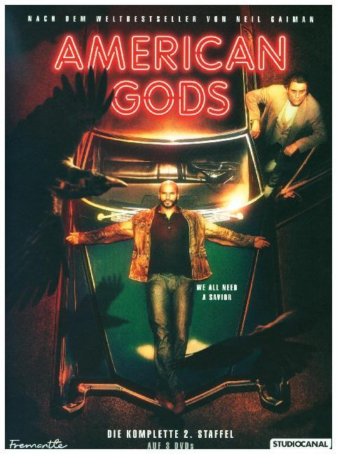 American Gods - 2. Staffel. Collector's Edition als DVD