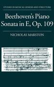 Beethoven's Piano Sonata in E, Op. 109