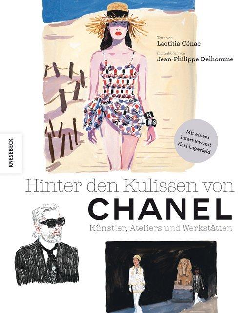 Hinter den Kulissen von Chanel als Buch