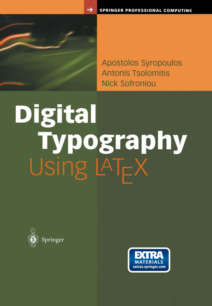 Digital Typography Using Latex als Buch (kartoniert)