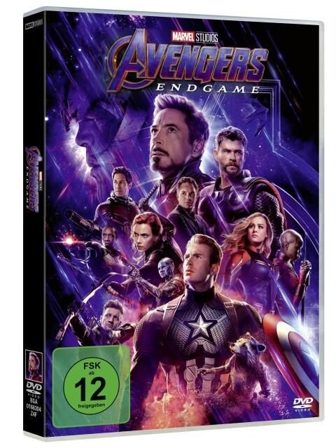 Avengers - Endgame als DVD