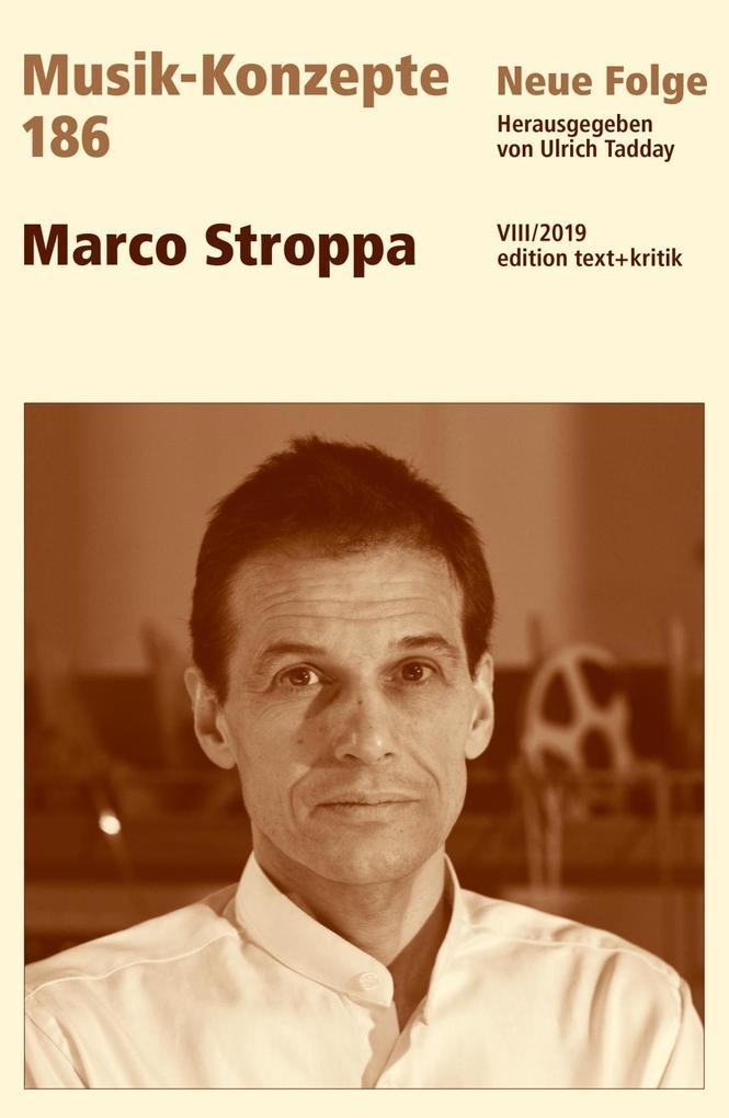 Marco Stroppa als Buch