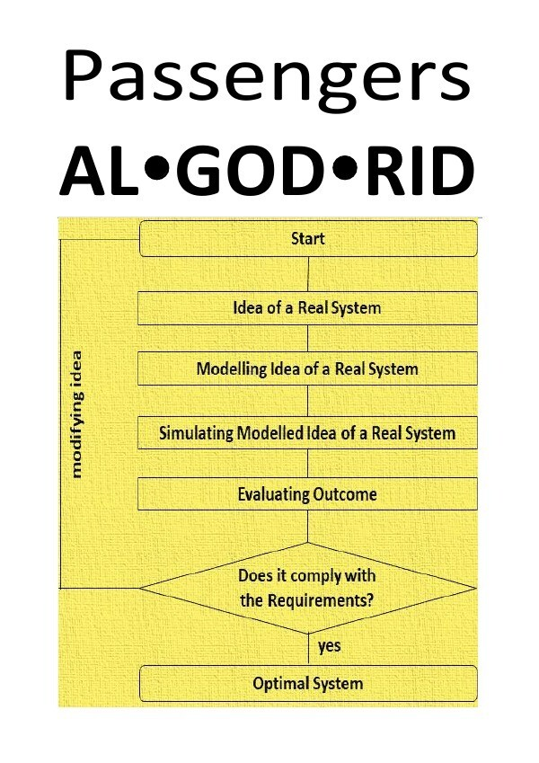 "Passengers AL GOD RID - ""Algorithms repeat past patterns, they automate the status quo."" als Buch (gebunden)"