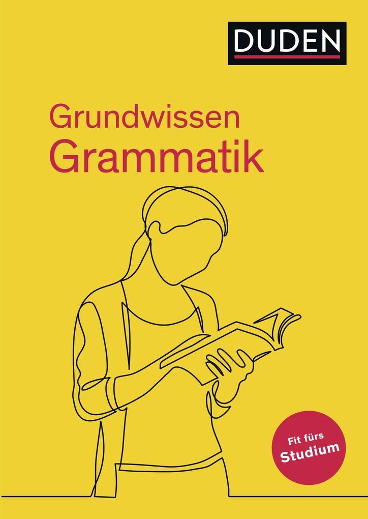 Duden - Grundwissen Grammatik als Buch