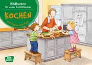 Kochen mit Emma und Paul. Kamishibai Bildkartenset.