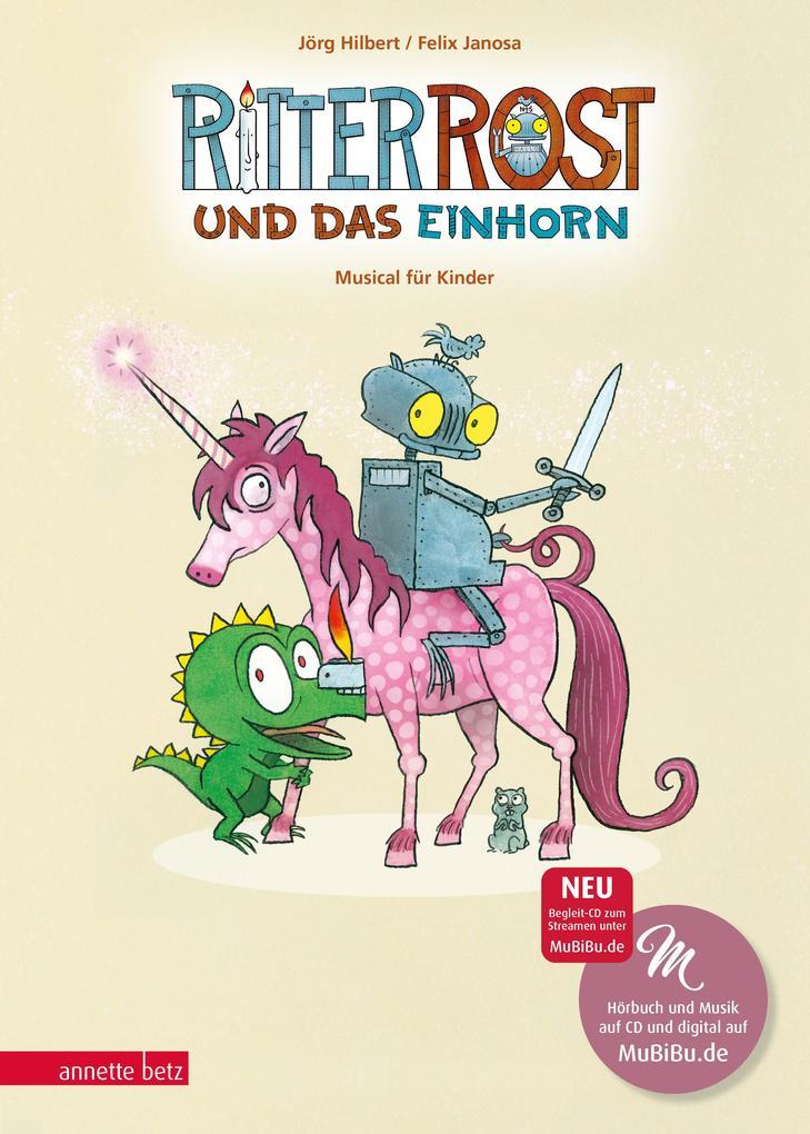Ritter Rost und das Einhorn als Buch