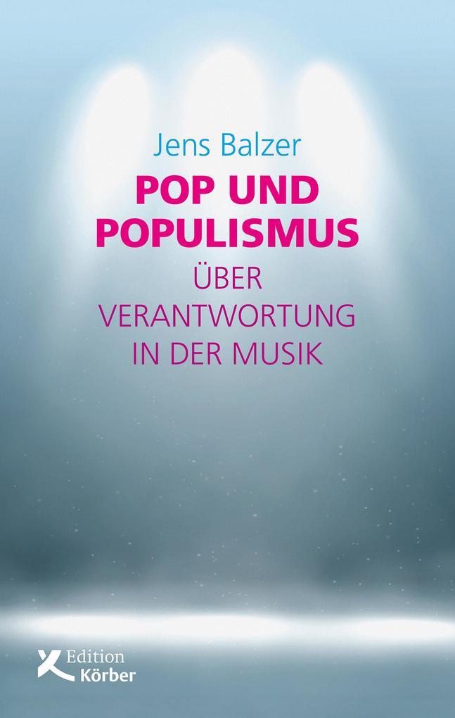 Pop und Populismus als eBook