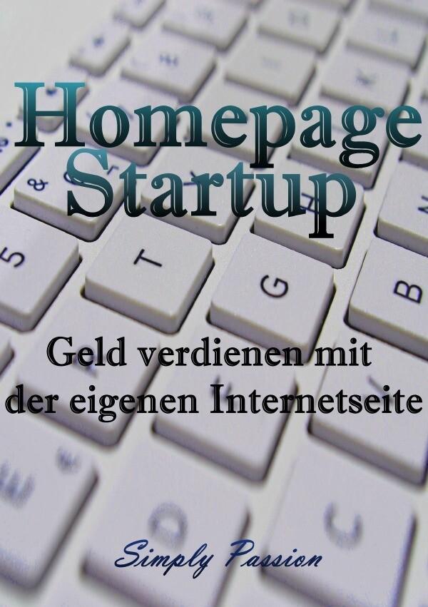 Homepage Startup als Buch (kartoniert)