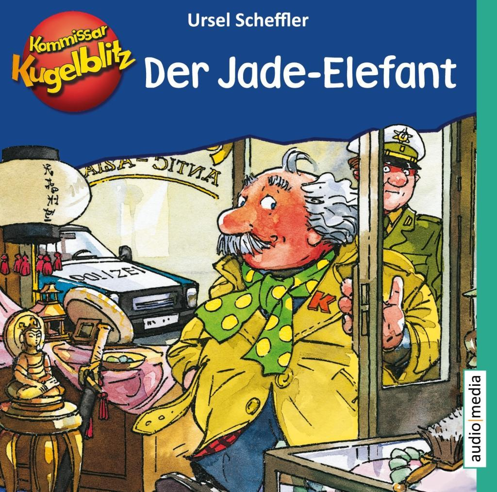 Kommissar Kugelblitz - Der Jade-Elefant als Hörbuch