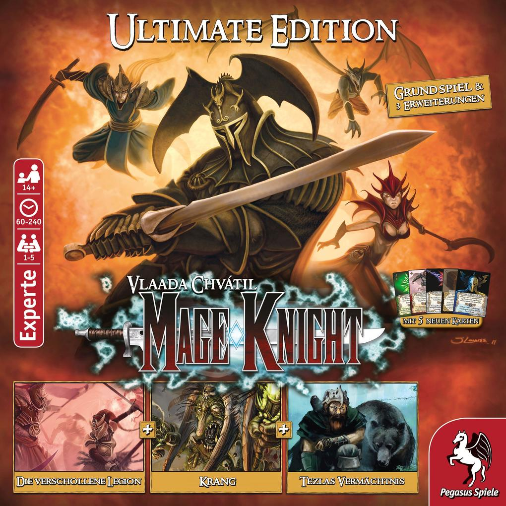 Pegasus Spiele - Mage Knight Big Box als sonstige Artikel