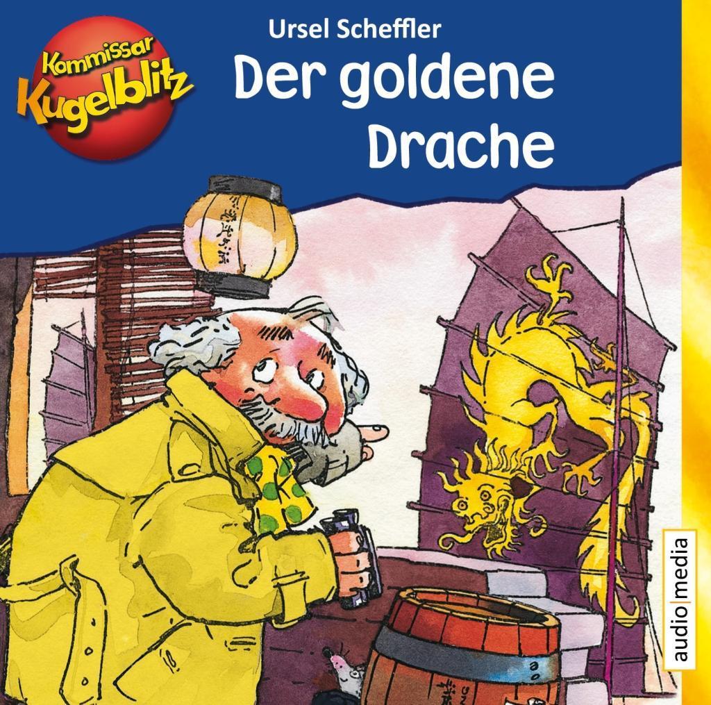 Kommissar Kugelblitz - Der goldene Drache als Hörbuch