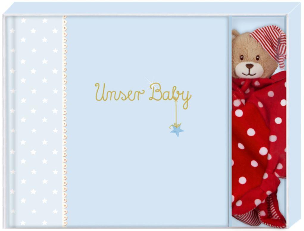 Geschenkset 'Unser Baby' für Jungen