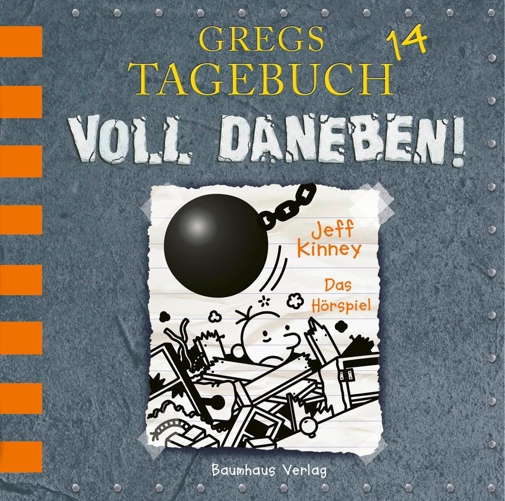 Gregs Tagebuch 14 - Voll daneben! als Hörbuch CD