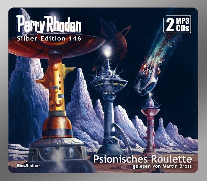 Perry Rhodan Silber Edition (MP3 CDs) 146: Psionisches Roulette als Hörbuch