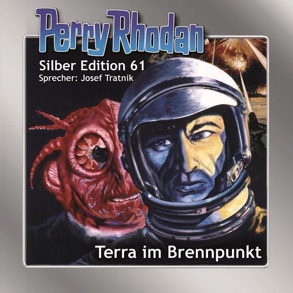 Perry Rhodan Silber Edition 61: Terra im Brennpunkt als Hörbuch