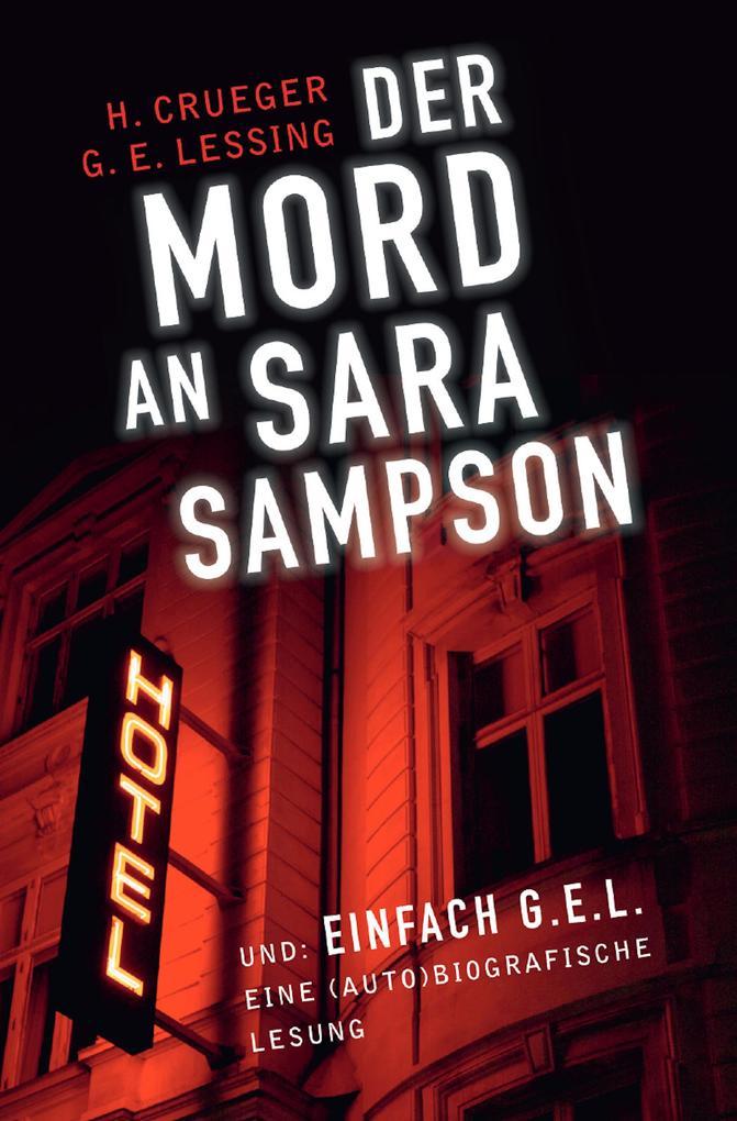 Der Mord an Sara Sampson als eBook