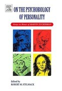 On the Psychobiology of Personality: Essays in Honor of Marvin Zuckerman