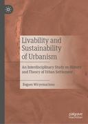 Livability and Sustainability of Urbanism