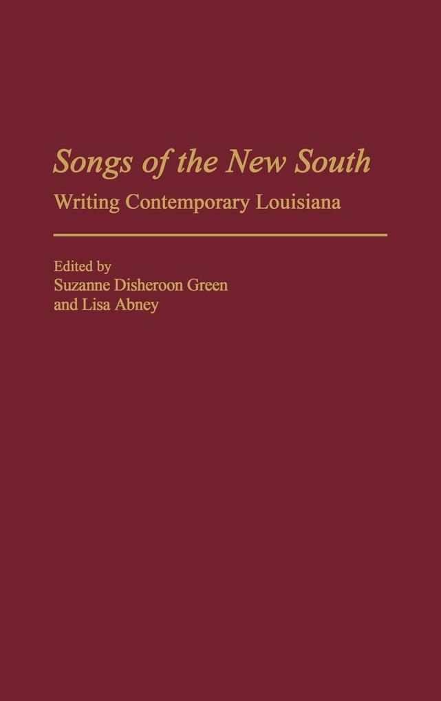 Songs of the New South als Buch (gebunden)