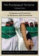 Psychology of Terrorism 4 Volume Set
