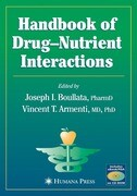 Handbook of Drug'nutrient Interactions