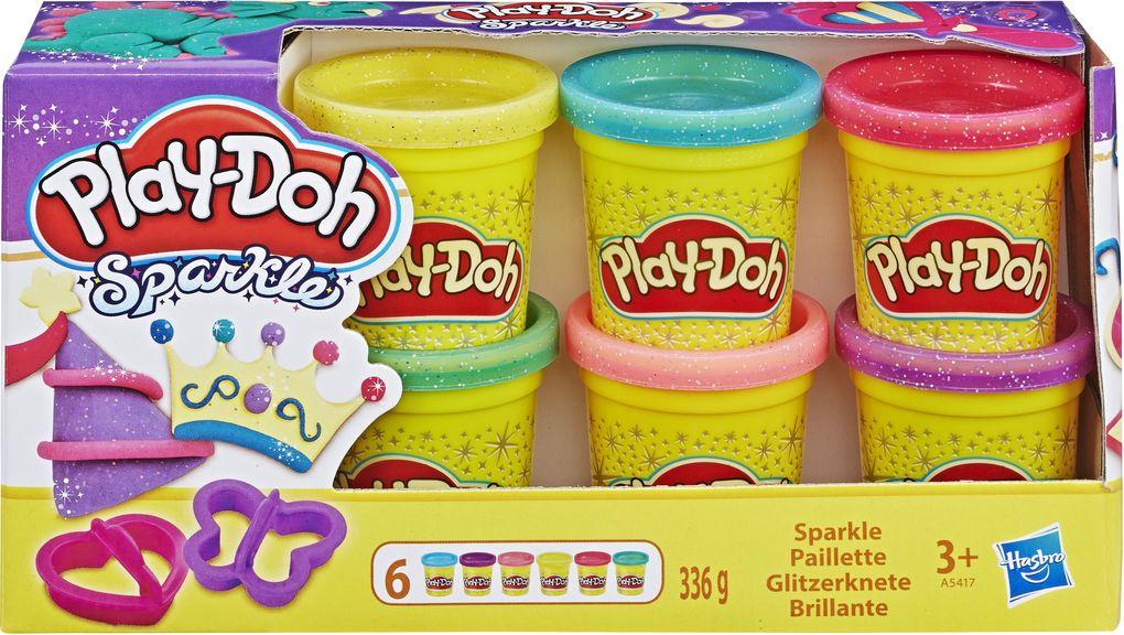 Image of Hasbro - Play-Doh - Glitzerknete