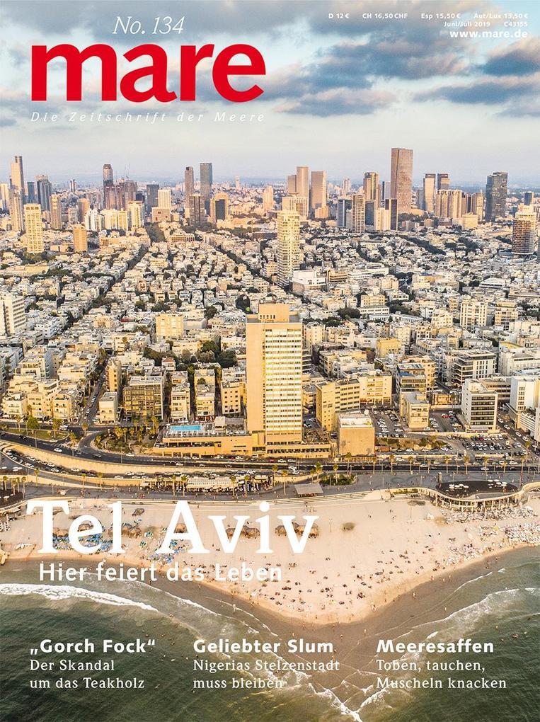 mare No. 134. Tel Aviv als Taschenbuch