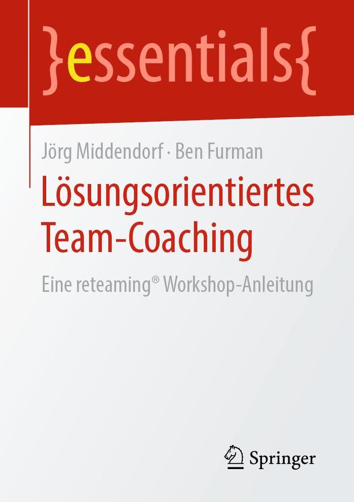 Lösungsorientiertes Team-Coaching als eBook pdf