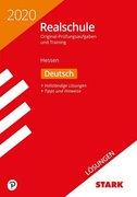 Lösungen zu Original-Prüfungen und Training Realschule 2020 - Deutsch - Hessen