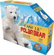 Madd Capp Shape Puzzle Junior Eisbär 100 Teile