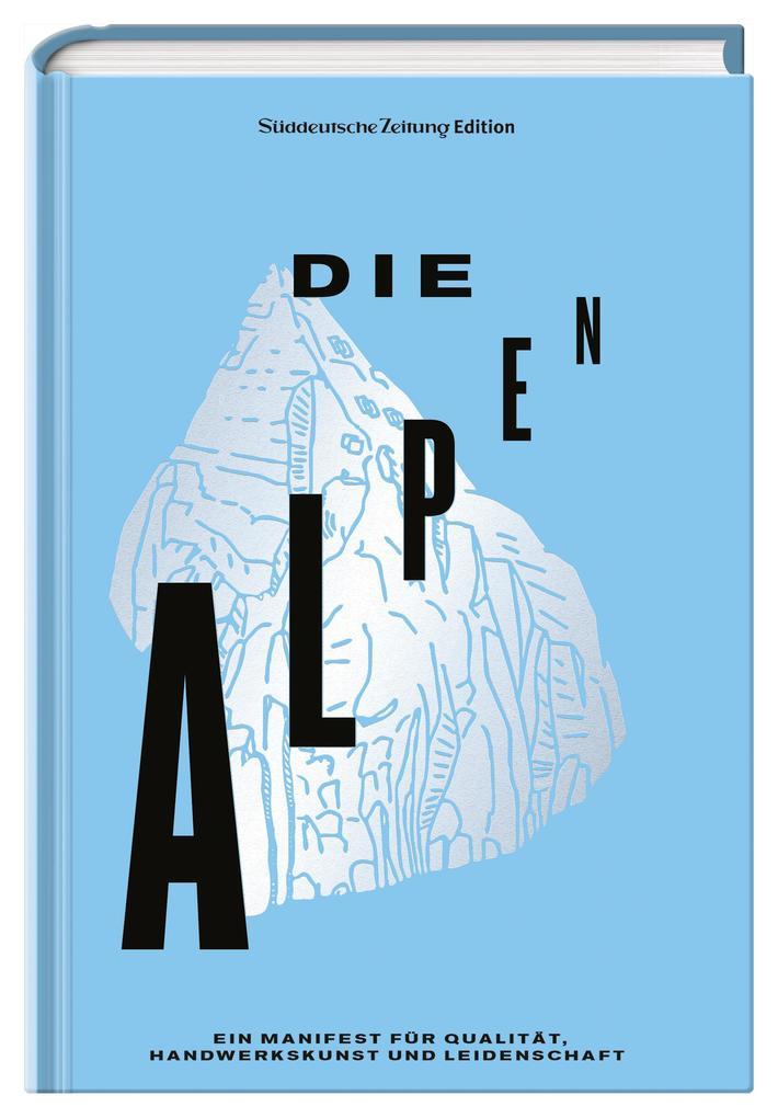Die Alpen als Buch (gebunden)