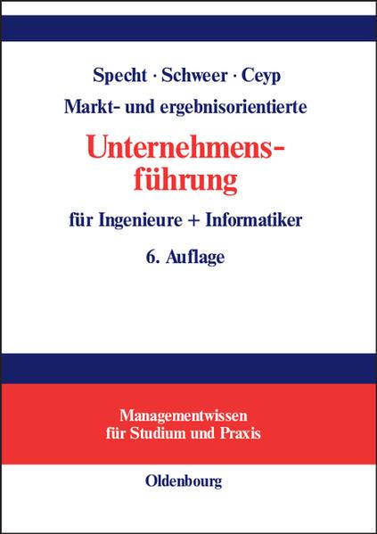 Markt- und ergebnisorientierte Unternehmensführ...
