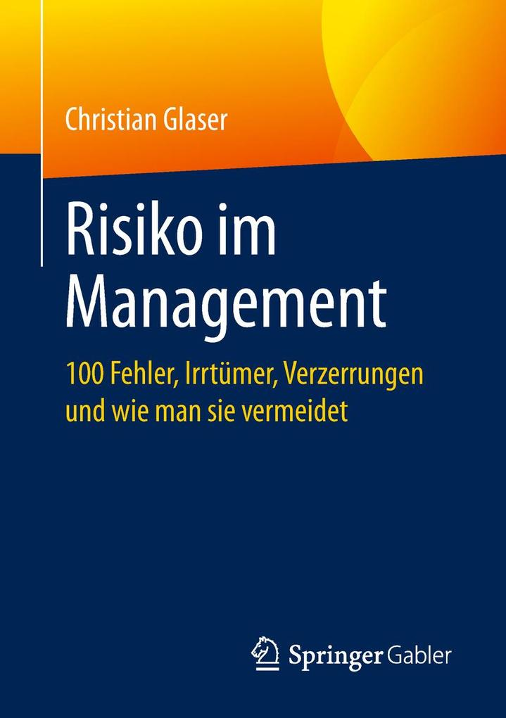 Risiko im Management als eBook