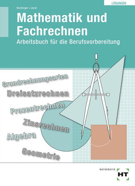 Übungsbuch mit eingetragenen Lösungen Mathematik und Fachrechnen als Buch