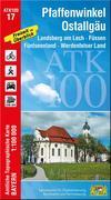 Pfaffenwinkel, Ostallgäu 1 : 100 000