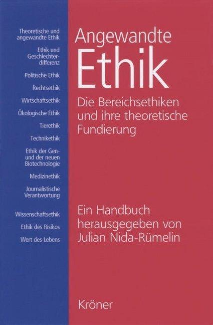 Angewandte Ethik als Buch