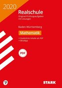 Original-Prüfungen Realschule 2020 - Mathematik - BaWü