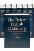The Oxford English Dictionary: 20 Volume Set