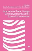 International Trade, Foreign Direct Investment, and the Economic Environment