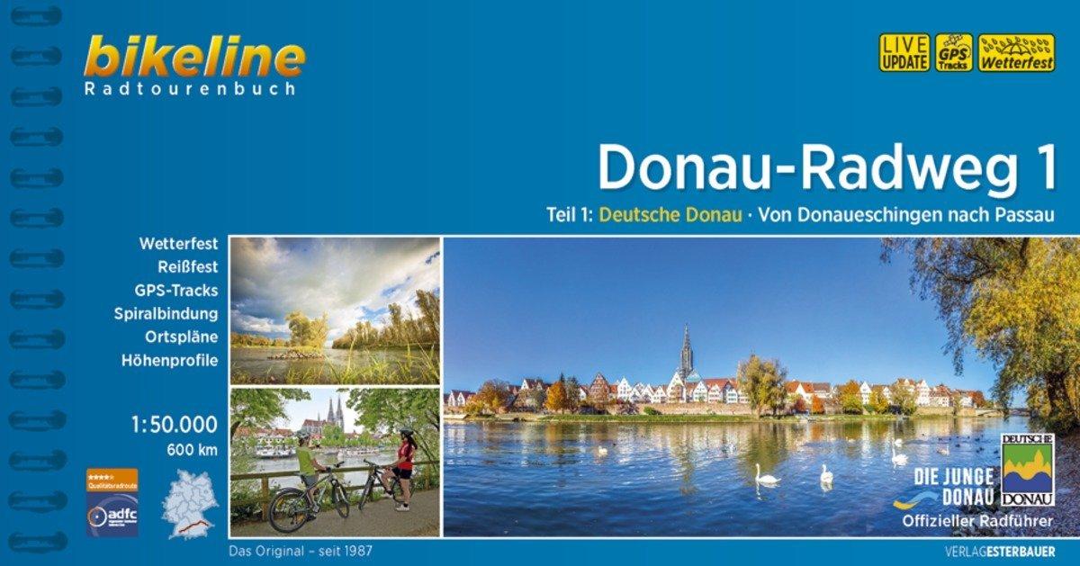 Donauradweg / Donau-Radweg 1 als Buch (kartoniert)