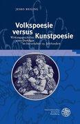 Volkspoesie versus Kunstpoesie