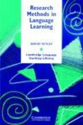 Research Methods in Language Learning