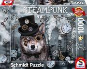 Schmidt Spiele - Puzzle - Steampunk Wolf, 1000 Teile