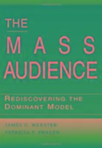 The Mass Audience als Buch (gebunden)